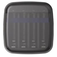 XTAR BC4 universal charger for 4x 1.5V Li-Ion/IMR/INR/ICR and 1.2V NiMH/Ni-Cd AA/AAA batteries