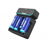Xtar D4 Fast-charging Li-ion Battery charger