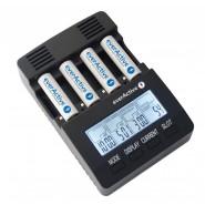 everActive NC-3000 četrvietīgs Ni-MH akumulatoru lādētājs