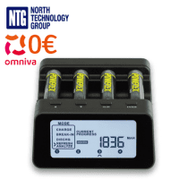 Maha Powerex MH-C9000PRO-E Ni-MH/Ni-Cd 4-slots professional charger-analyzer