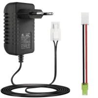 Melasta Intelligent Airsoft, RC Car charger, charger for Remote Control RC car, Ni-MH charger with male Tamiya and Mini Tamiya connector for 2-10S NiMH rechargeable batteries