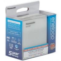 Panasonic Eneloop BQ-CC87 NiMH charger / Power Bank, white
