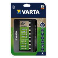 Varta LCD Multi Charger+ 8-slot NiMH AA / AAA battery charger, 57681