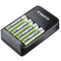 Varta USB Quattro 4-slot USB AA / AAA NiMH batteries charger + 4x Varta AA 2100mAh NiMH batteries 4 pc., 57652