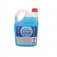 CrossChem Winter windshield washer fluid -12°C 4L