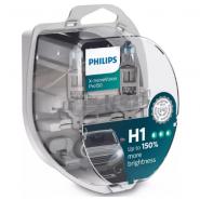 Philips H1 X-treme Vision Pro150 +150% car bulbs, 2 pc.