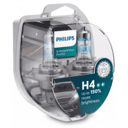 Philips H4 X-treme Vision Pro150 +150% car bulbs, 2 pc.
