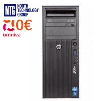 Used HP Z420 Workstation, Intel Xeon E5-1620 processor, 16GB RAM, 128GB SSD, Quadro K2000 video card, Windows 10 Professional