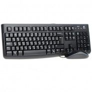 Logitech Desktop MK120 - keyboard + wired mouse (RUS)