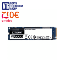 Kingston A2000 NVMe PCIe SSD solid-state drive 2280 1TB, SA2000M8/1000G