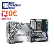 ASRock Intel B460 Steel Legend Motherboard 4 x DDR4