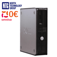 Lietots Dell Optiplex 320 SFF dators ar Intel D352, 2GB RAM, 80GB HDD un Windows XP Pro