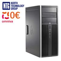 Used HP Compaq Elite 8200 Convertible Minitower with Intel Core i3-2100 processor, 4GB DDR3 RAM, 128GB SSD, 500GB HDD, Windows 10 Pro