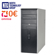 Lietots HP Minitower DC7800p Core 2 Duo E6750 2x2.66 GHz 2GB RAM 160GB HDD Windows Vista Busines