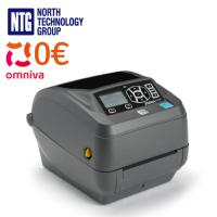 Used Zebra ZD500 152mm/sec label printer