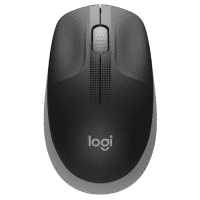Logitech M190 Wireless Full-Size Mouse, black