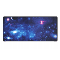 Blue gaming mousepad XXL, space