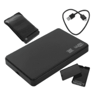 "2.5"" USB 3.0 SATA UASP Enclosure Disk Housing, External Hard Drive Case"