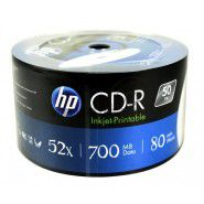 HP CD-R 80/700MB 52x 50 gab. matricas