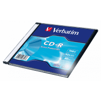 Verbatim CD-R 80/700MB 52x Extra Protection disc 1 pc. in a box