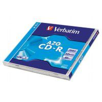 Verbatim DataLifePlus CD-R 80min/700MB 52x disc with AZO crystal surface layer, 1 pc. in a box