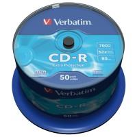 Verbatim CD-R 80/700MB 52x Extra Protection matricas 50 gab.