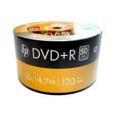 HP DVD+R 4.7GB 16x 120min disc, 1 pc.