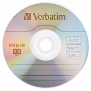 Verbatim DVD+R 4.7 GB 16x Matt Silver Azo Surface1 gab.