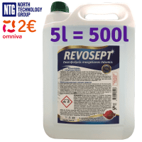 Revosept Professional Surface Disinfectant, up to 500L 1:100, disinfectant, concentrate 5L
