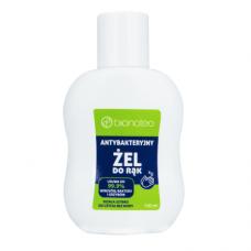 Bionateo Antibacterial Hand Gel, Sanitizer, 80% ethanol, 100ml