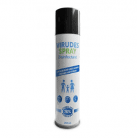 Virudes Professional Universal Hand Sanitizer and Surface Disinfectant with Glycerine, 0.2l, 70% ethanol base, spray, 200ml