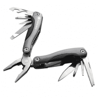 everActive Multi-Tool multipurpose tool 9in1, grey (knife, screwdriver, pliers, bottle opener, etc.)