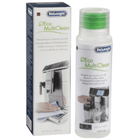 DeLonghi Eco MultiClean DLSC550 Coffee and Espresso Machine Cleaning Solution (milk parts), 250ml