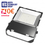 100W LED Floodlight 125lm/w IP65 2700-6000K with Osram 3030 100W LED diodes