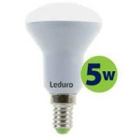Leduro LED R50 bulb 5W 400lm 180° E14 3000K, 1 pc.