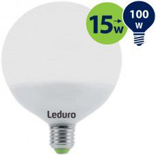 Leduro LED bulb 15W 1200lm 360° E27 2700K, 1 pc.