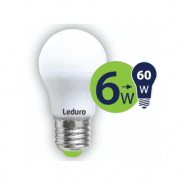Leduro LED A50 bulb 6W 500lm 360° E27 2700K, 1 pc.