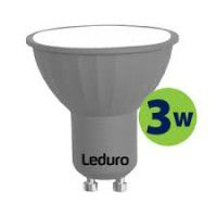 Leduro LED PAR16 bulb 3W 250lm 90° GU10 3000K, 1 pc.