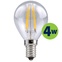 Leduro LED G45 bulb 4W 40lm 360° E14 2700K, 1 pc.
