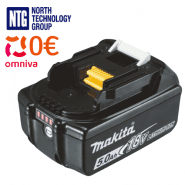 Makita BL1850B LXT 5.0Ah Li-ion battery for 18V LXT tool, 5Ah, 197280-8