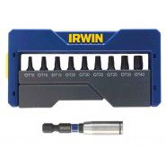 Irwin screwdriver bits, 10 pc.