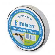 Folsen self-fusing tape 19mm x 10m, black