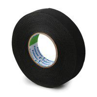 Folsen textile insulating tape 19mm x 25m, black