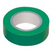Electrical tape IEK 0.13 x 15mm, 10m, green