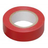 Electrical tape IEK red 0.13 x 15mm 10 m