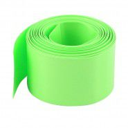 Heat shrink wrap (diameter 3 cm, length 1 m), light green