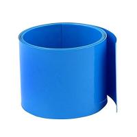 Heat shrink wrap diameter 115mm, length 25cm, blue (11.5cm, 0.25m)