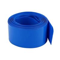 Heat shrink wrap diameter 38mm, length 25cm, blue (3.8cm, 0.25m)