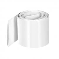 Heat shrink wrap diameter 54.2mm, length 100cm, white (5.42cm, 1m)