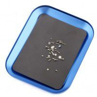 Magnetic screws storage tray, blue